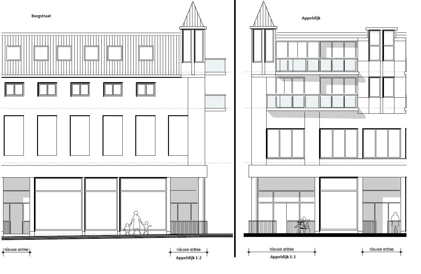 Studio / Loft Appeldijk 1-2, Gorinchem