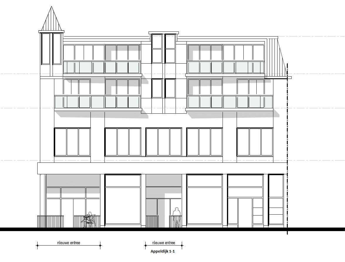 Appartement Appeldijk 1-1 ,Gorinchem